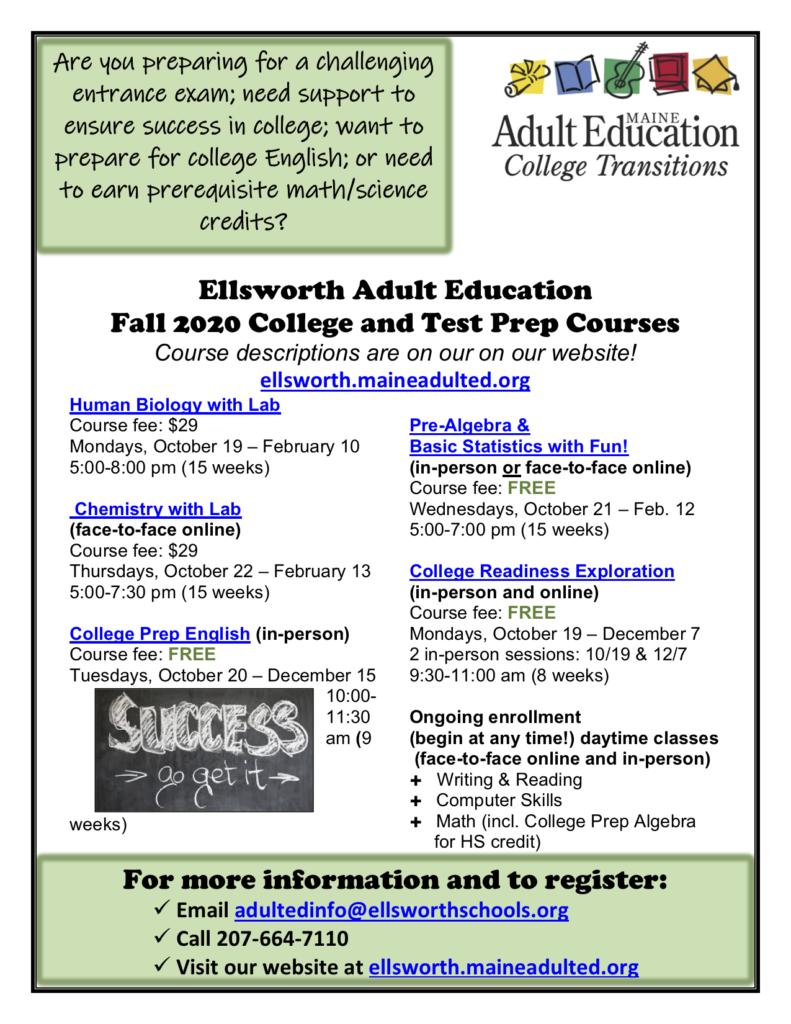 Ellsworth Adult Education image #1710